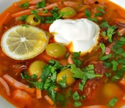 Приготовление домашней солянки по вкусным рецептам
