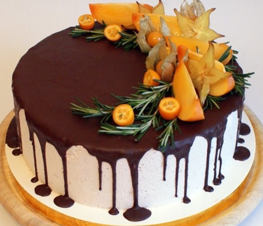 Красивое украшение тортов в домашних условиях