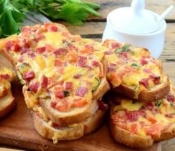 Быстрое приготовление вкусных горячих бутербродов