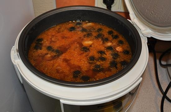 Рецепты солянки в мультиварке с фото