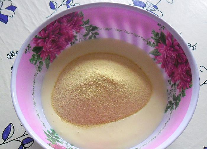 Манник диетический на кефире пошаговый рецепт с в