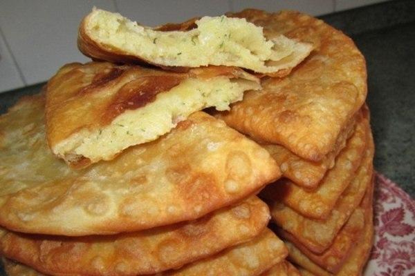 Рецепт чебуреки с картошкой рецепт