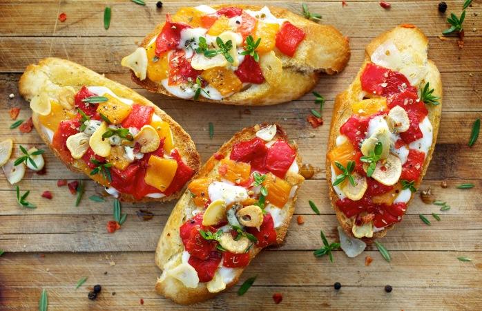 Рецепт с яйцом и овощами