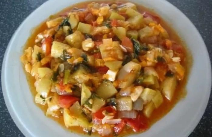 Рецепт с кабачками и баклажанами