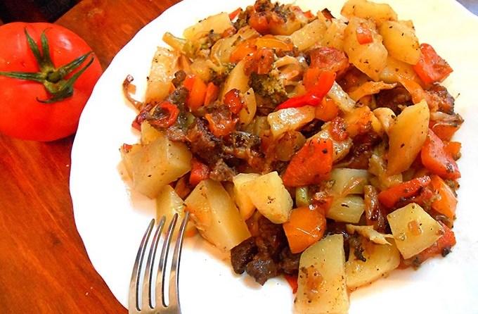 Рецепт с картошкой