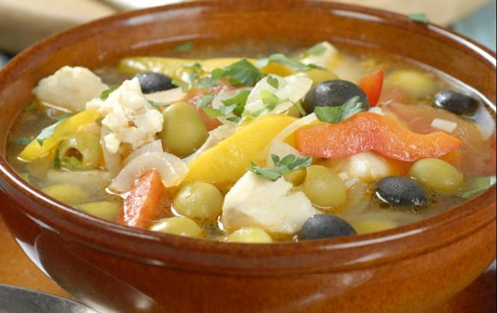 Суп по-гречески
